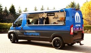 RAM ProMaster Hospitality Van